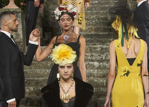 Firenze/Florence Fashion shows  Dolce & Gabbana