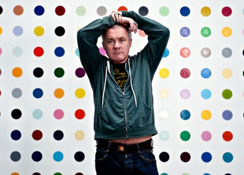 Damien Hirst Courtesy New York Times